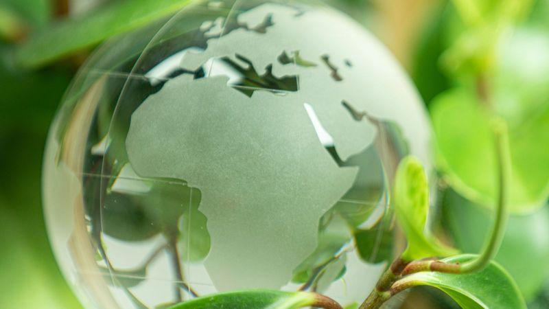 Globus im Grünen